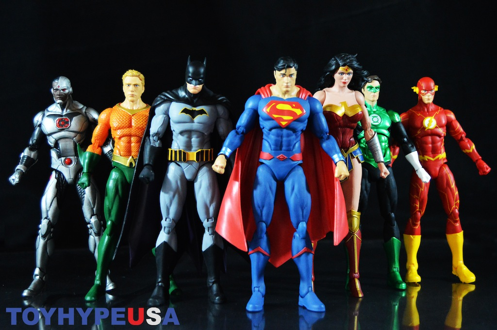 DC Icons Justice League 7 Pack 6″ Rebirth Cyborg Figure Review