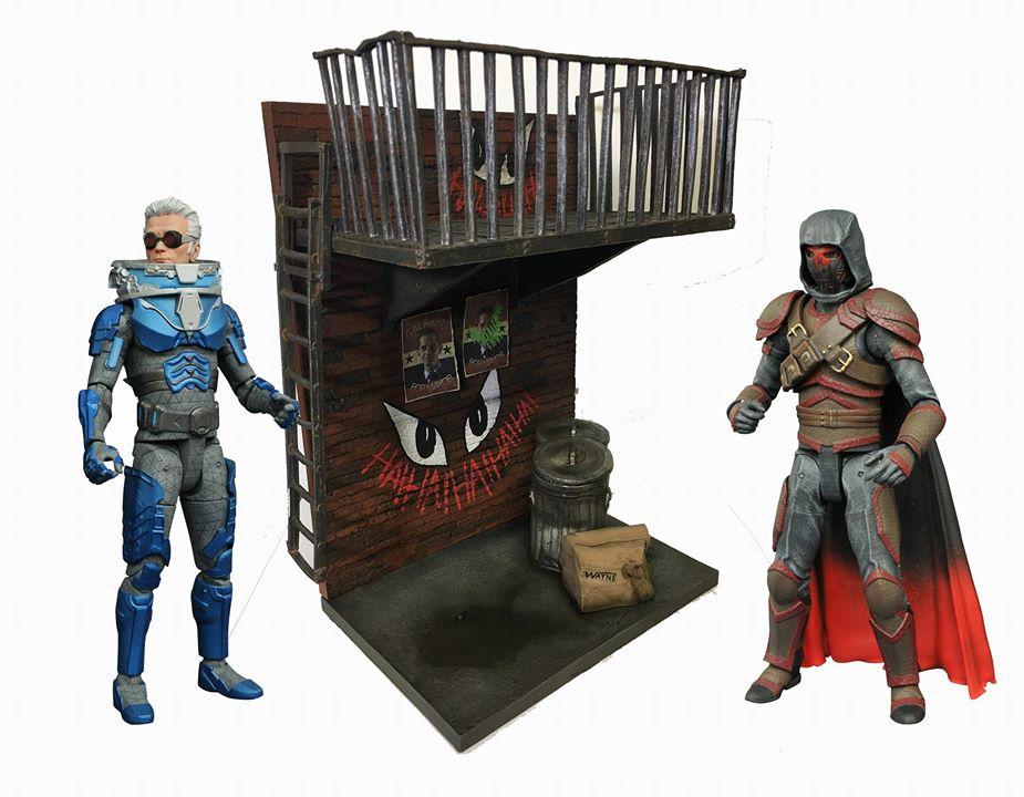 Diamond Select Toys Gotham TV Series 4 Select 7″ Figures Alleyway Diorama