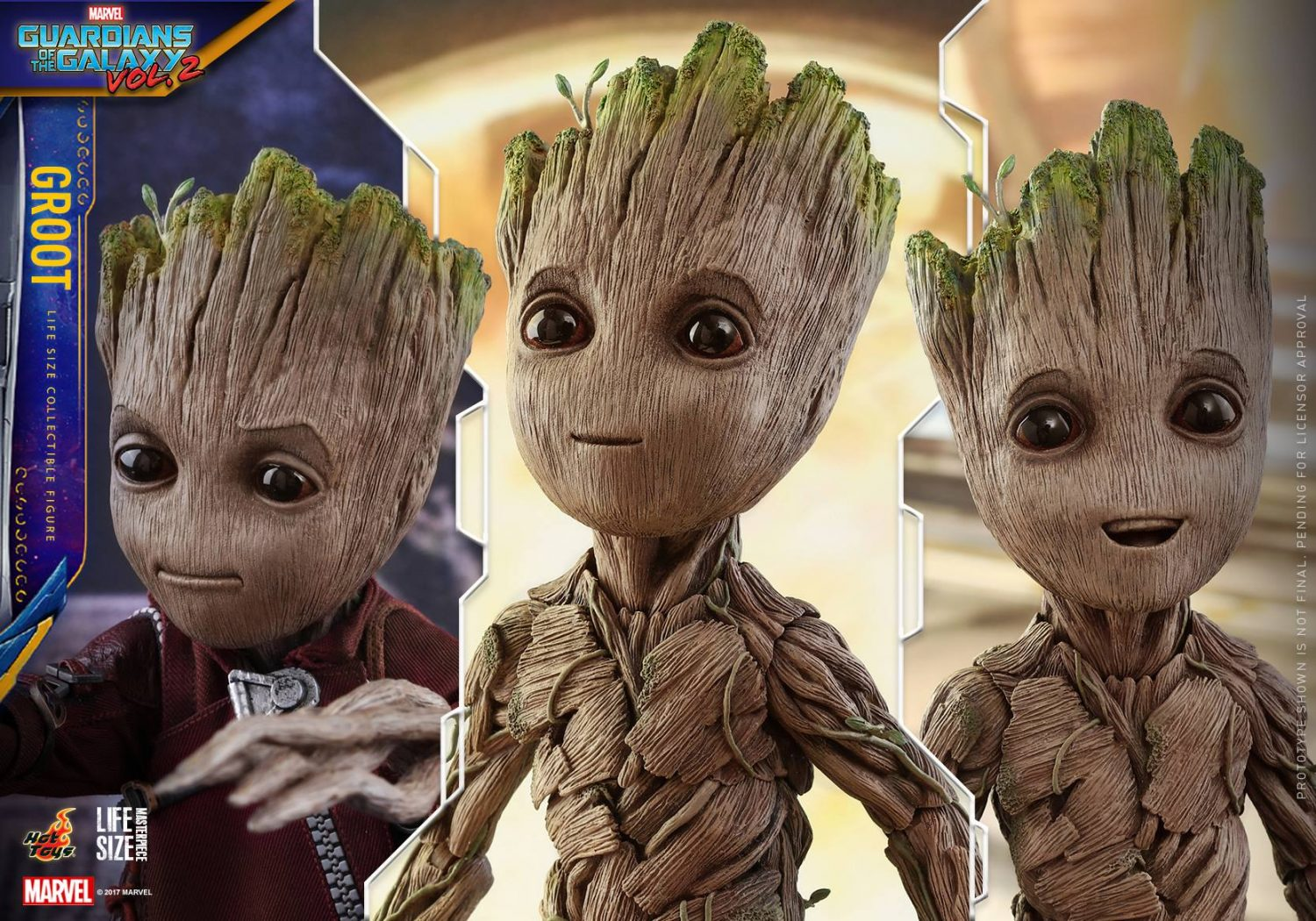Hot Toys Guardians Of The Galaxy Vol. 2 – Baby Groot Life Size Figure