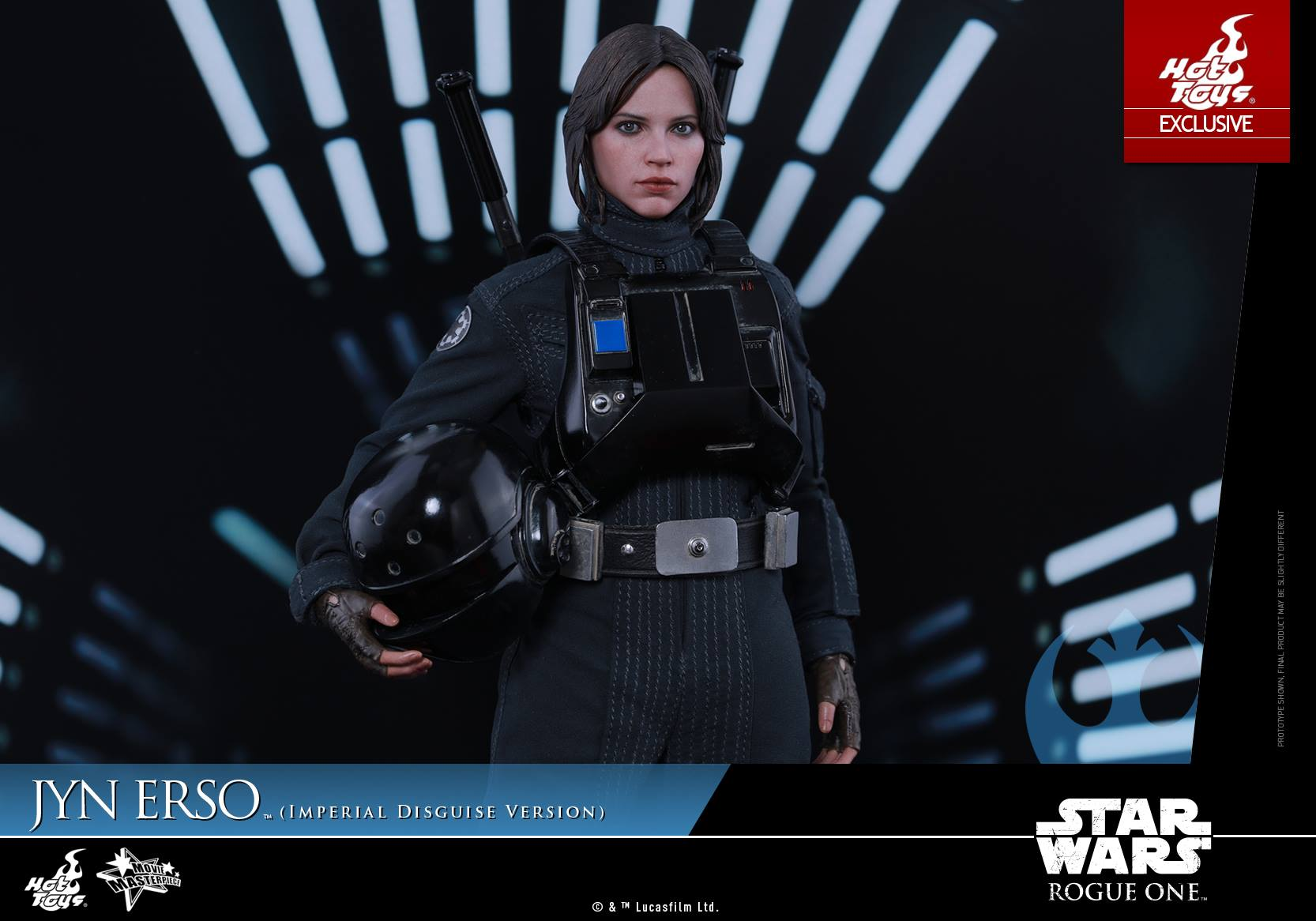 Hot Toys Star Wars Rogue One – Jyn Erso Imperial Disguise Version