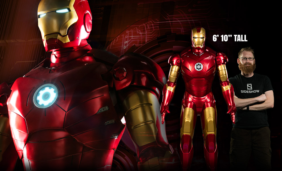 Sideshow Collectibles Iron Man Mark 3 Life Size Figure Pre-Orders