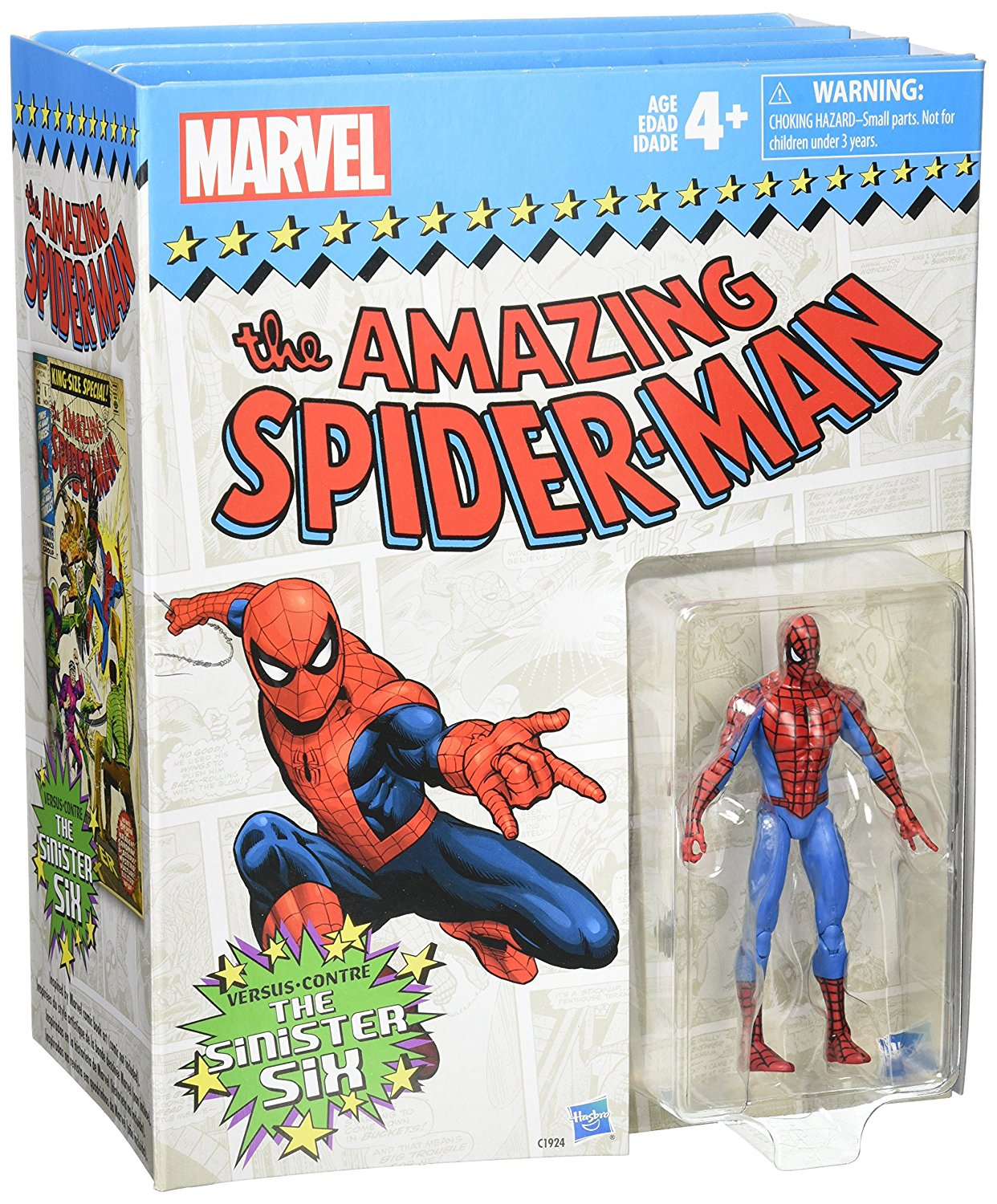 Hasbro – The Amazing Spider-Man 3.75″ 7 Figure Set Now $65 On Amazon