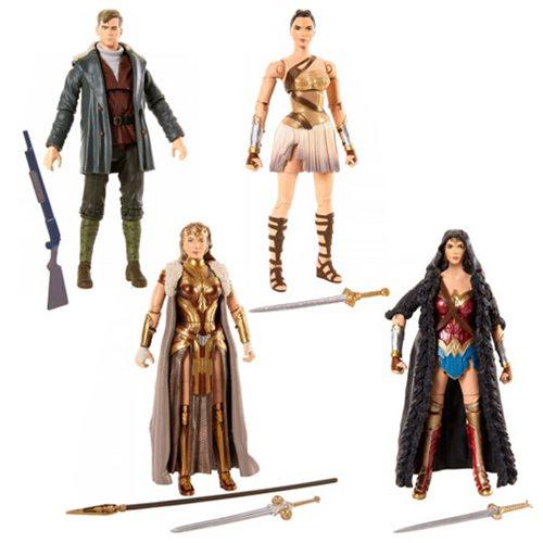 Mattel DC Comics Multiverse 6″ Wonder Woman Movie Figures $11+ Sale On Amazon