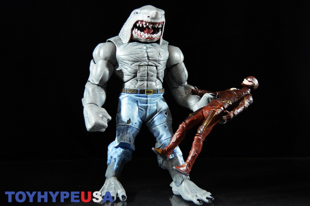 Mattel: DC Multiverse 6″ Scale King Shark Collect & Connect Figure Review