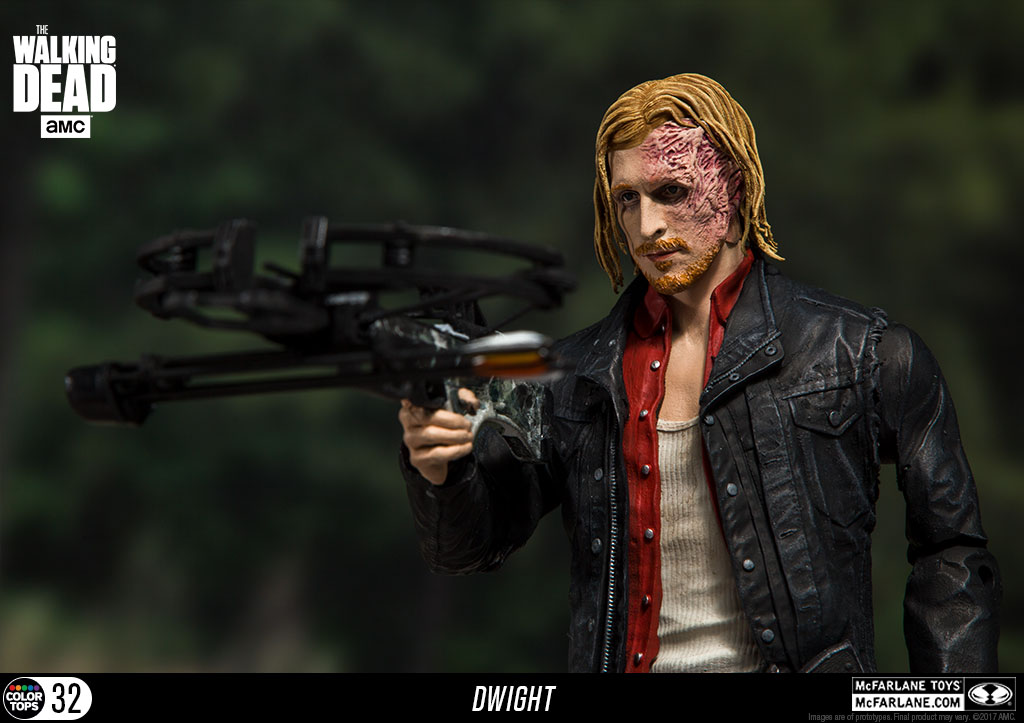 McFarlane Toys The Walking Dead 7″ Color Tops Dwight Figure Available Now