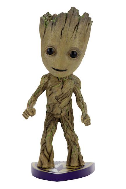 NECA Toys Guardians Of The Galaxy Vol. 2 Baby Groot Head Knocker On Amazon & eBay
