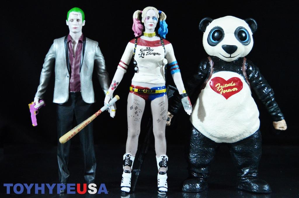 NJ Croce Suicide Squad Bendable Figures The Joker, Harley Quinn & Panda 3 Pack Review