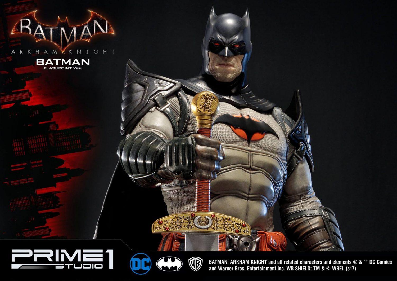 Prime 1 Studio Batman: Arkham Knight – Flashpoint Outfit Batman Statue