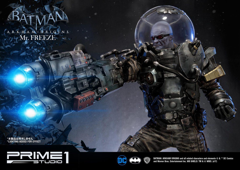 Prime 1 Studio Batman: Arkham Origins – Mr. Freeze Statue