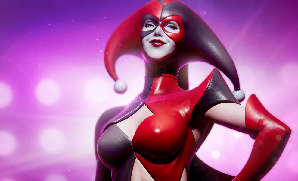 Sideshow Collectibles Artgerm Designed DC Comics Harley Quinn Statue