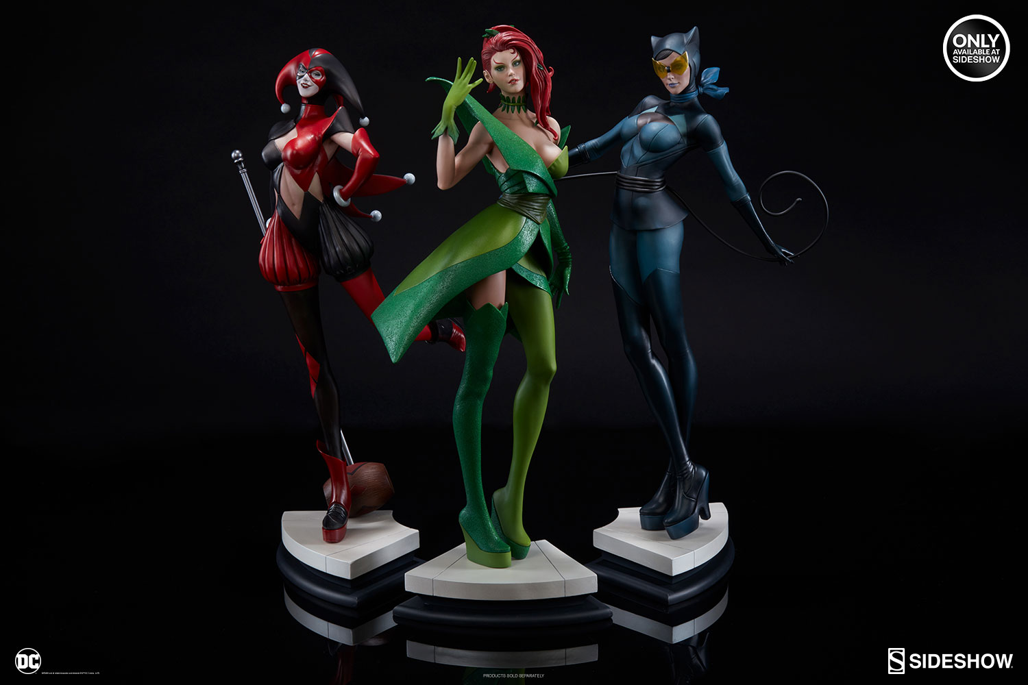 Sideshow Collectibles Gives Fans A Behind The Scenes Look At Gotham City Sirens Statues