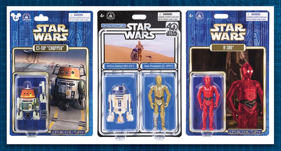 Disney Parks Reveals New Star Wars Droid Factory Figures