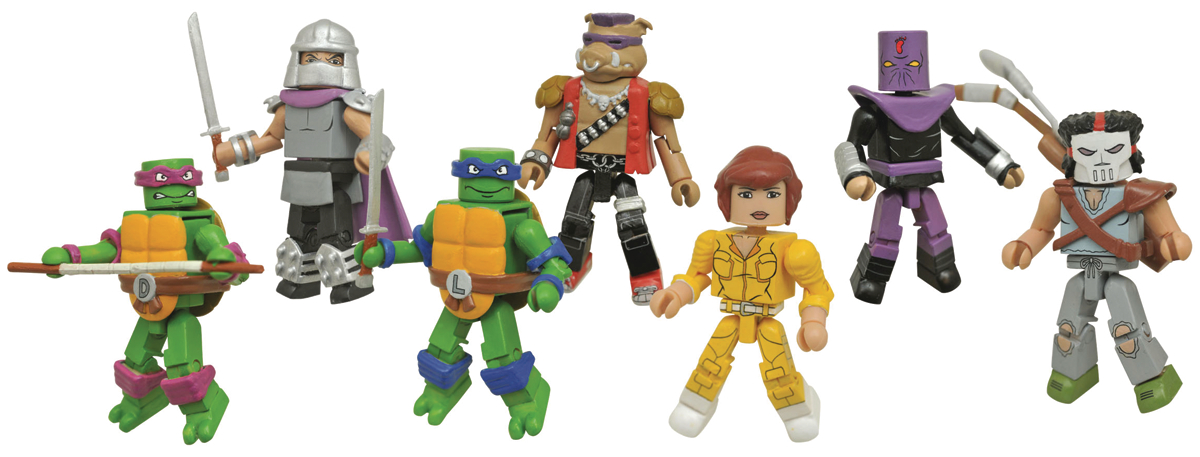 Diamond Select Toys Solicitations For Fall 2017 – Marvel Select, BTAS, TMNT, GOTG Vol. 2 & More