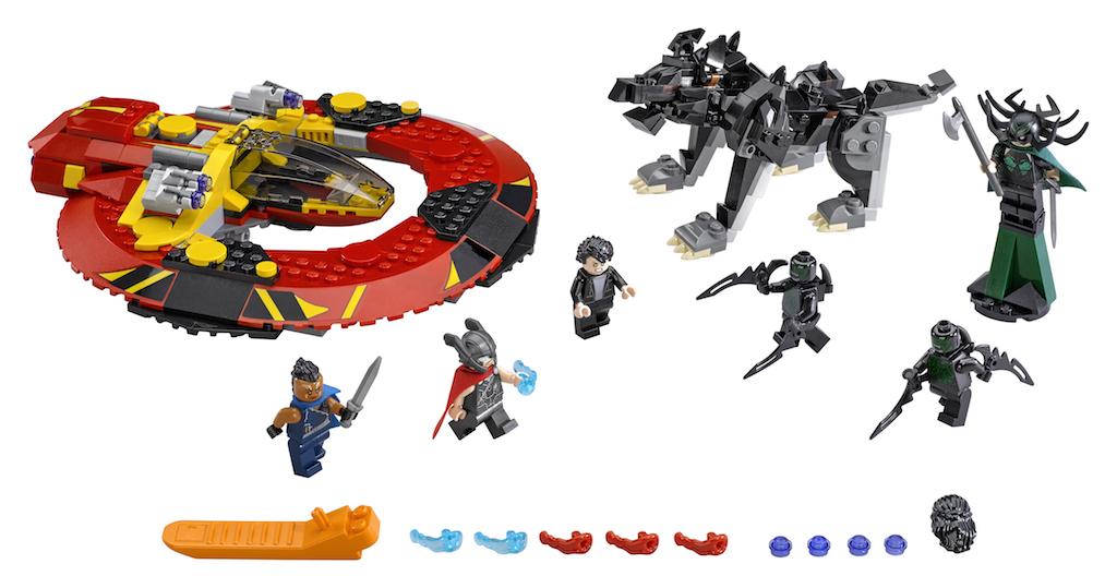 LEGO Reveals Two Thor Ragnarok Sets – Thor Vs. Hulk Arena Clash & The Ultimate Battle For Asgard