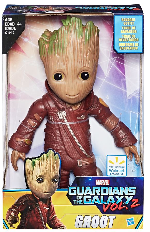 Hasbro Guardians Of The Galaxy Vol. 2 Groot Wal-Mart Exclusive Figure