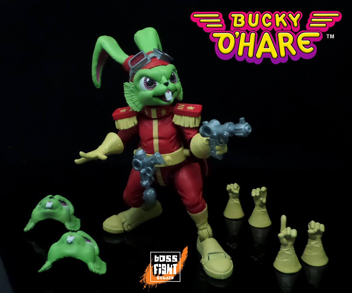 Entertainment Earth: Bucky O'Hare & Jenny 4″ Figures Pre-Order