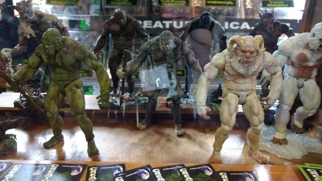 Creatureplica: Monster Museum Exhibits Statues & New Figures