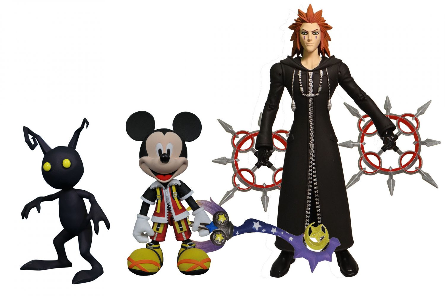 Kingdom Hearts Select Action Figures Hit Comic Shops This Week