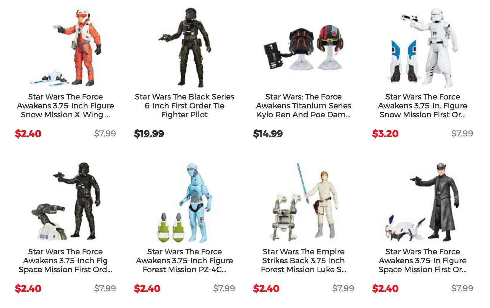 HasbroToyShop eBay Store 50% Off & Up On Star Wars Action Figures