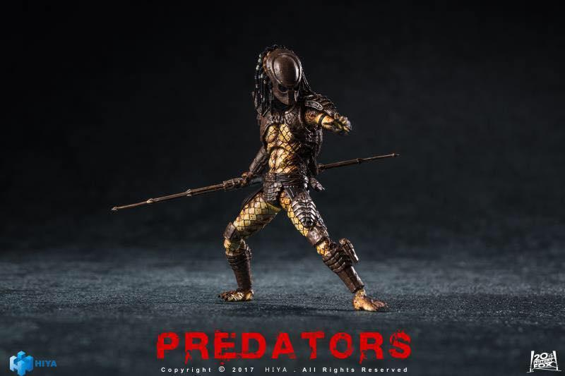Hiya Toys City Hunter Predator 3 3/4″ Figure New Images