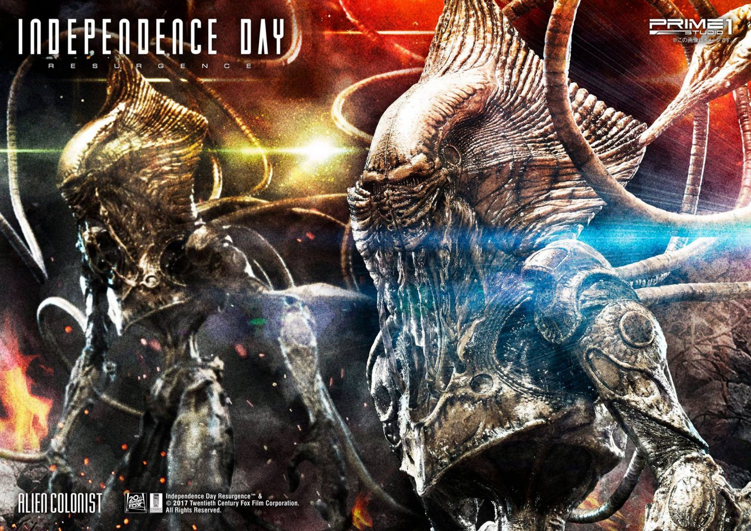 Prime 1 Studio Independence Day: Resurgence Alien Colonist Statue