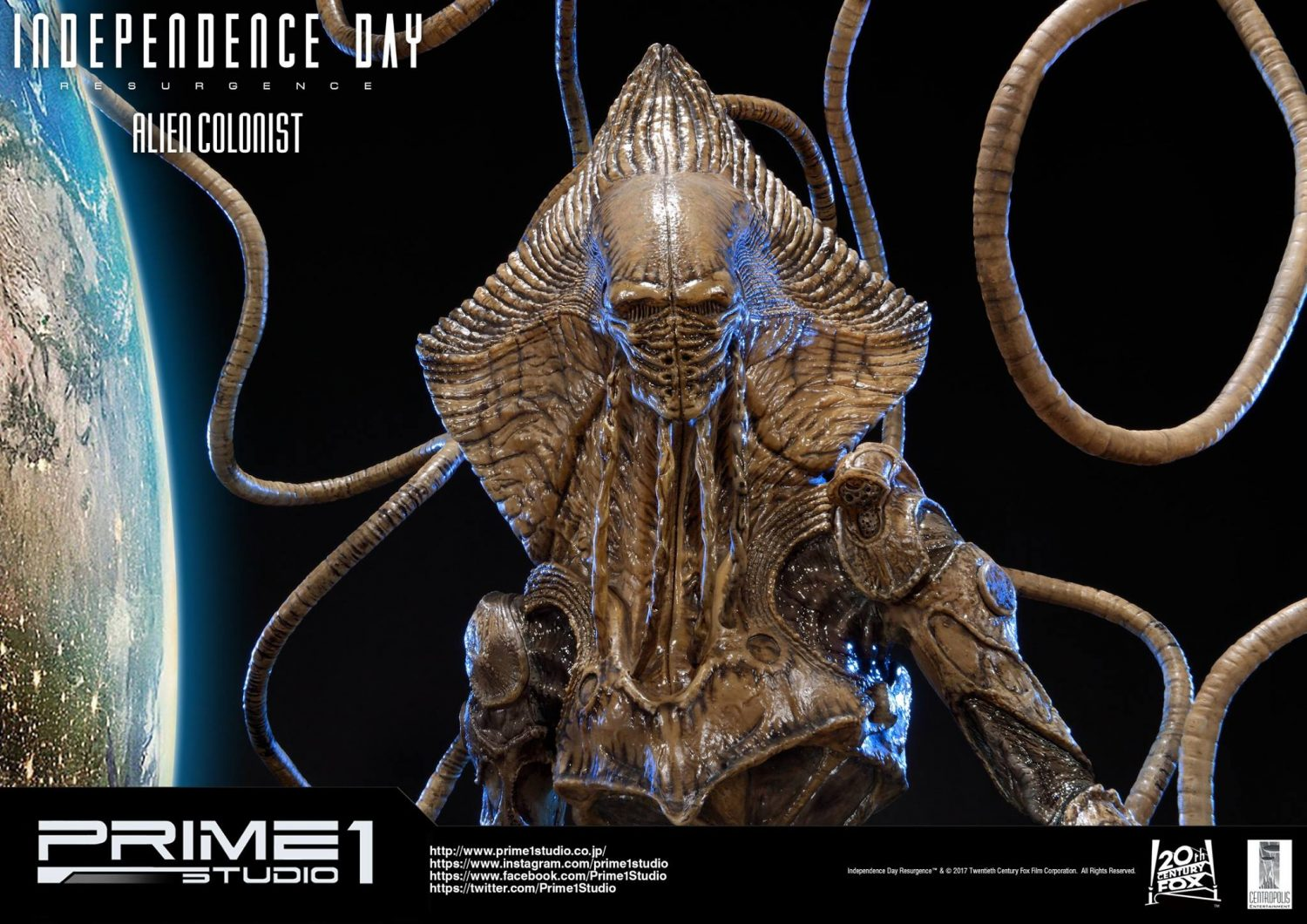 Prime 1 Studio Independence Day: Resurgence Alien Colonist Statue Pre-Orders