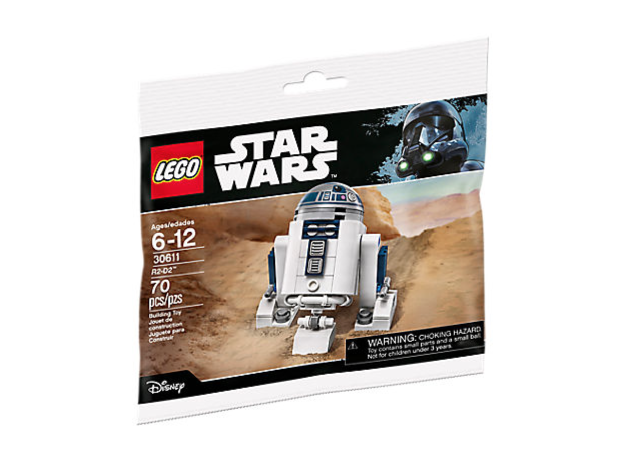 LEGO Shop Exclusive Star Wars R2-D2 Minifigure Free With $50 Purchase