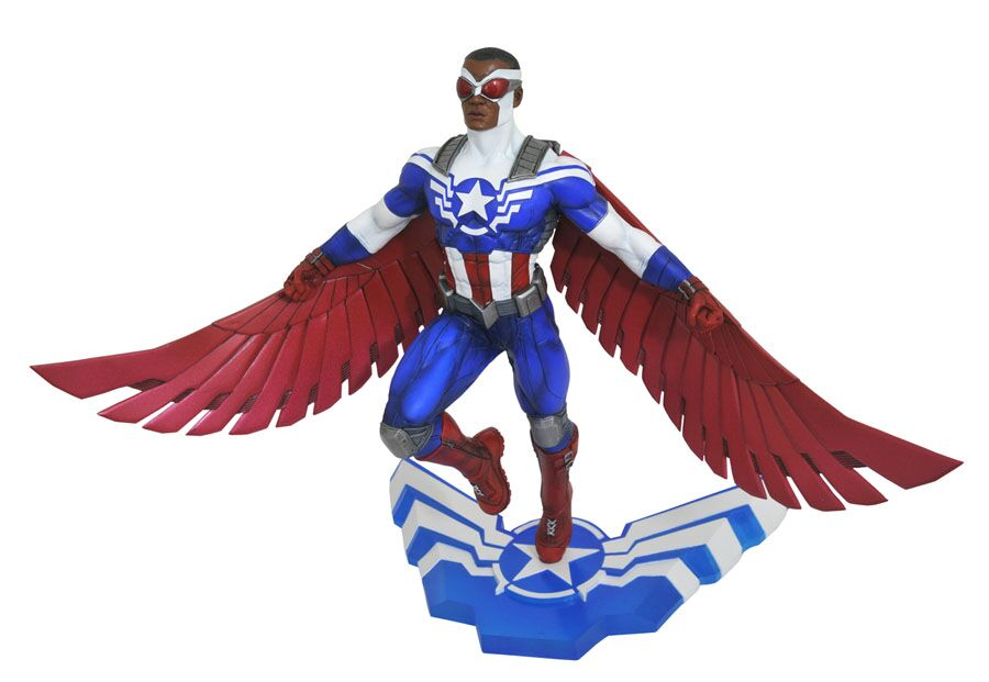 Diamond Select Toys In Stores Now – Spider-Gwen, Captain America & Falcon