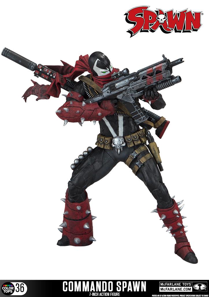 McFarlane Toys Commando Spawn 7″ Figure Available Now