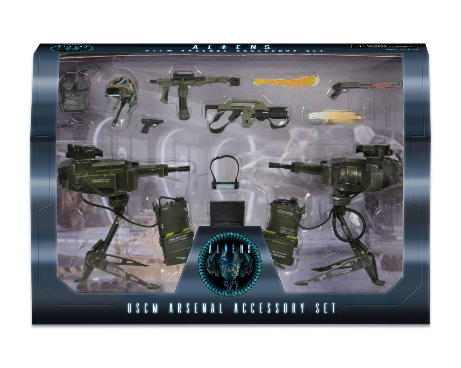 NECA Toys Shipping This Week – Aliens USCM Arsenal Accessory Set & Groot Foam Figure