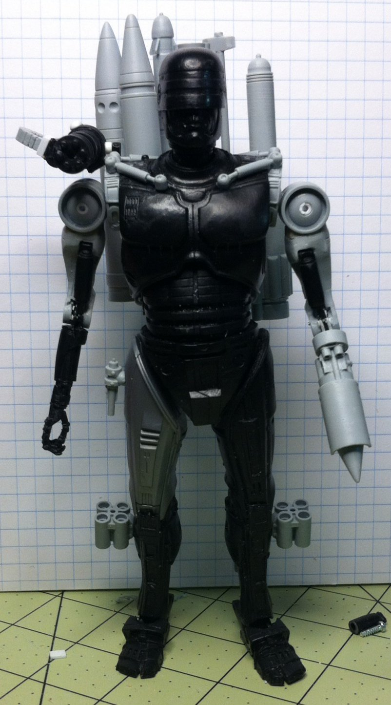 NECA Toys Previews RoboCop Vs. Terminator 7″ Scale RoboCop Figure