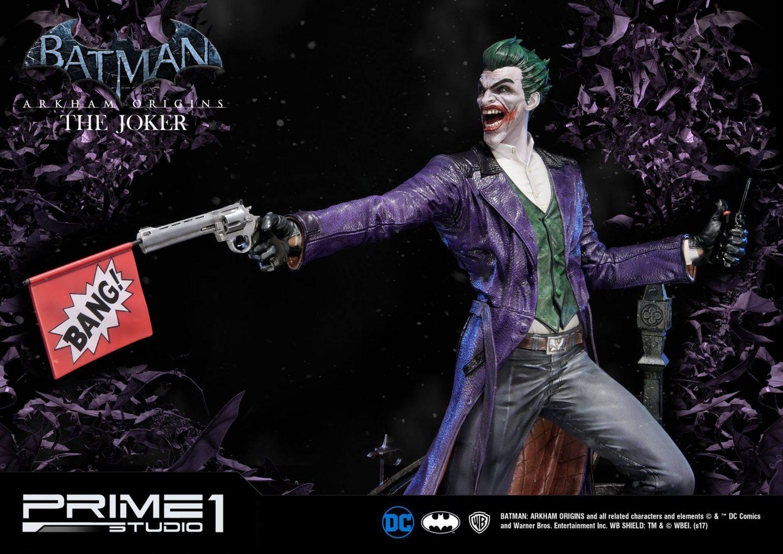 Prime 1 Studio Batman: Arkham Origins – The Joker Statue