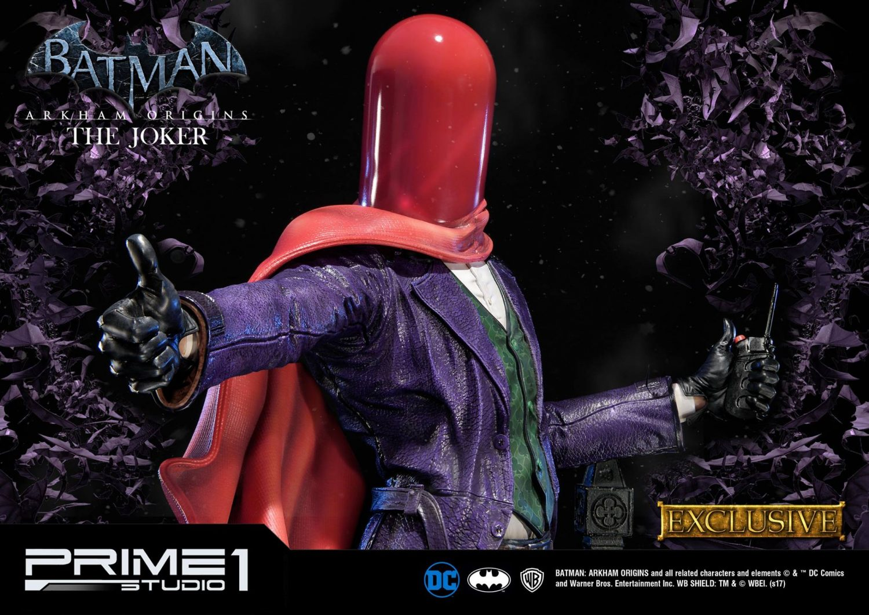 Prime 1 Studio Batman: Arkham Origins – The Joker Statue Pre-Orders