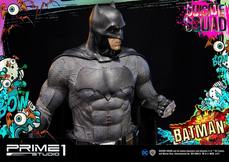 Prime 1 Studio Suicide Squad Batman Statue Official Images & Pre-Orders