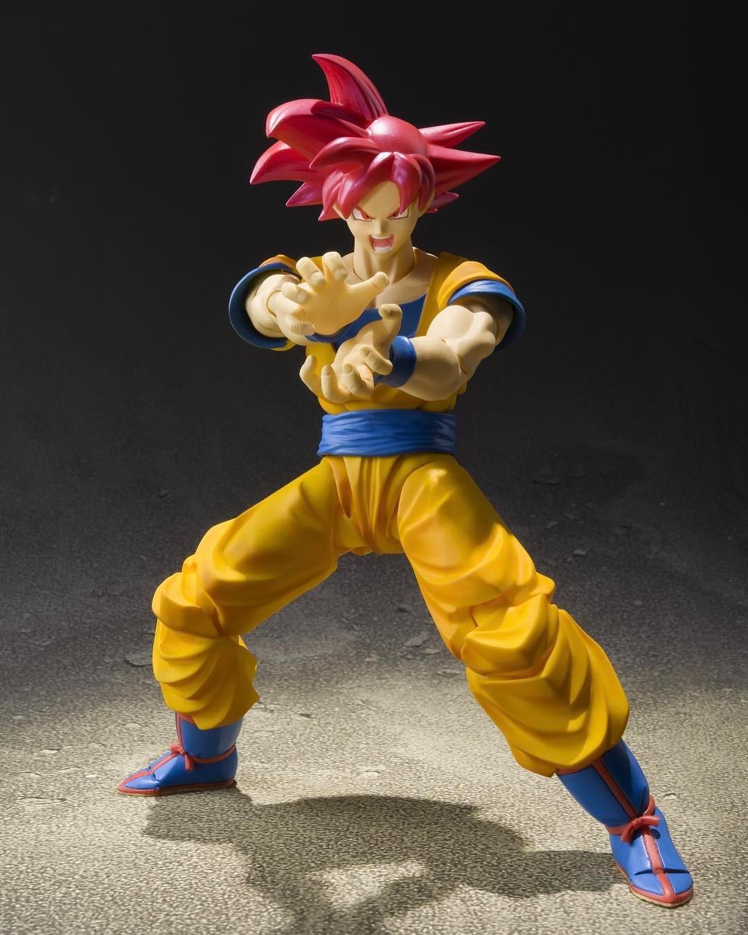 S.H. Figuarts Dragonball Z Super Saiyan God Son Goku Preview