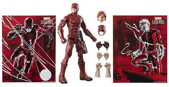 Hasbro SDCC 2017 Marvel Legends 12″ Daredevil Exclusive On HTS eBay Store For $47