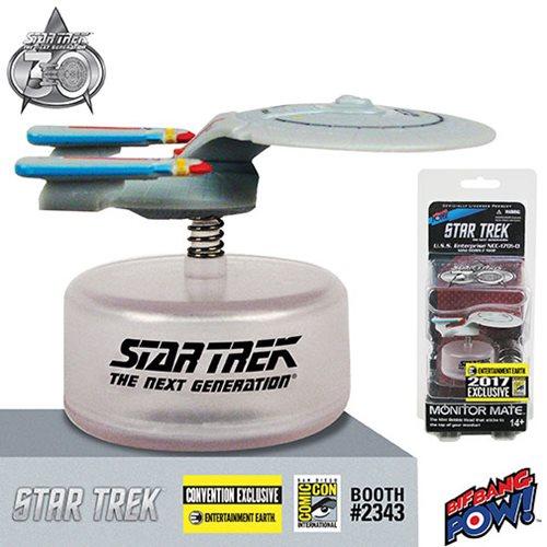 Star Trek: The Next Generation U.S.S. Enterprise NCC-1701-D Monitor Mate SDCC 2017 Exclusive