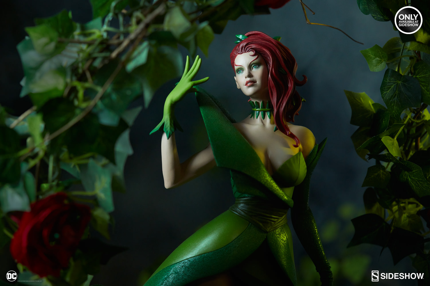 Sideshow Collectibles Stanley Artgerm Lau Artist Series Poison Ivy Statue Pre-Orders