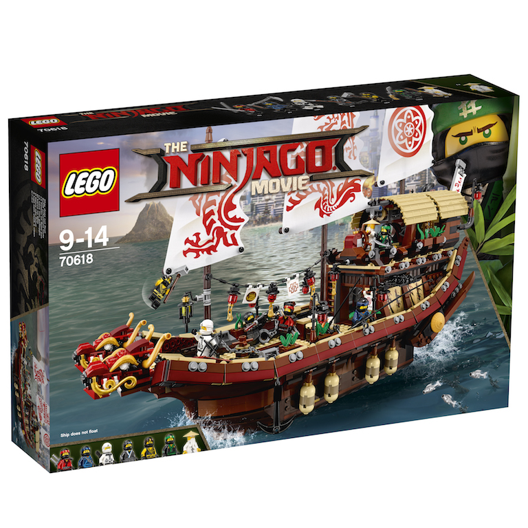 LEGO Announces The First Wave Of LEGO Ninjago Movie Sets