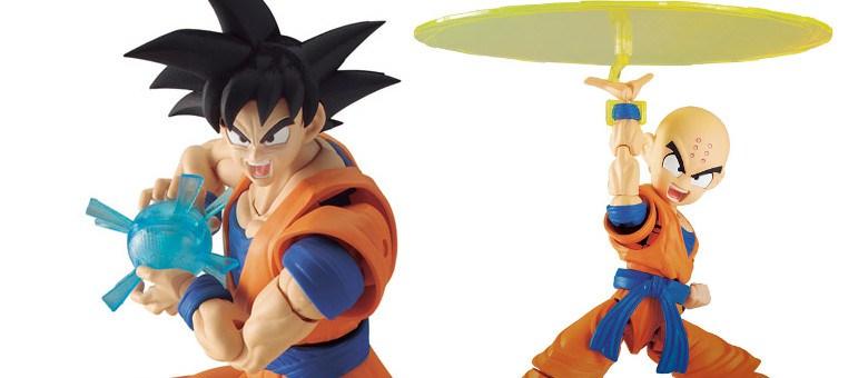 Entertainment Earth – Bandai Tamashii Nations Dragon Ball Z Figure-rise Standard Goku & Krillin Set
