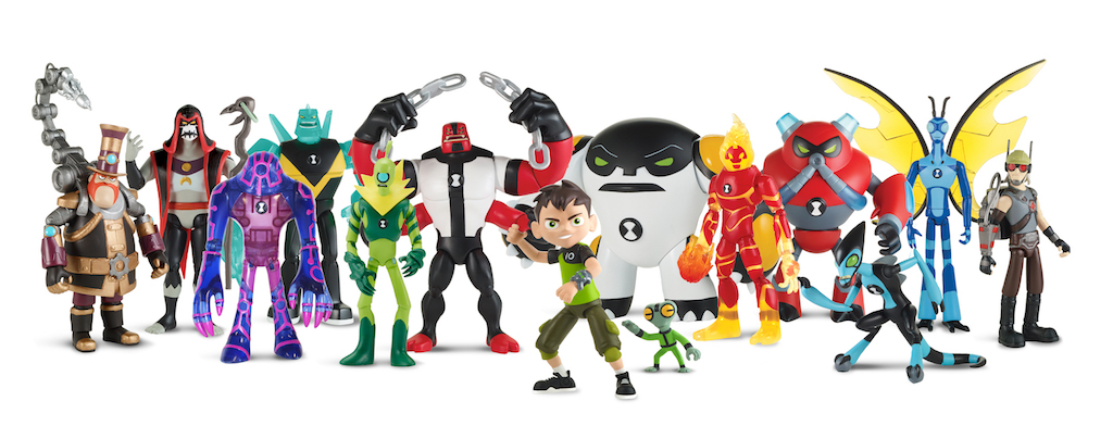 """Playmates Toys Toy Line Based On Cartoon Network's New Ben 10 Animated Series Available Now As a Limited Exclusive At Toys""""R""""Us"""