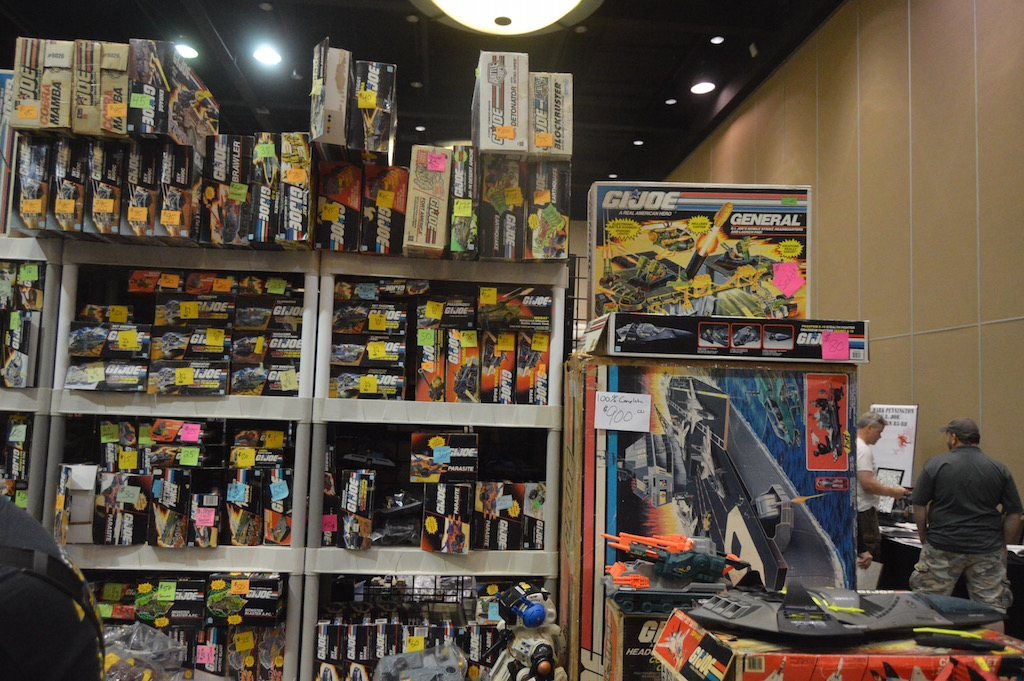 Hasbro G.I. JoeCon 2017 – Exhibitor Room Day 1, 3D Joes & More
