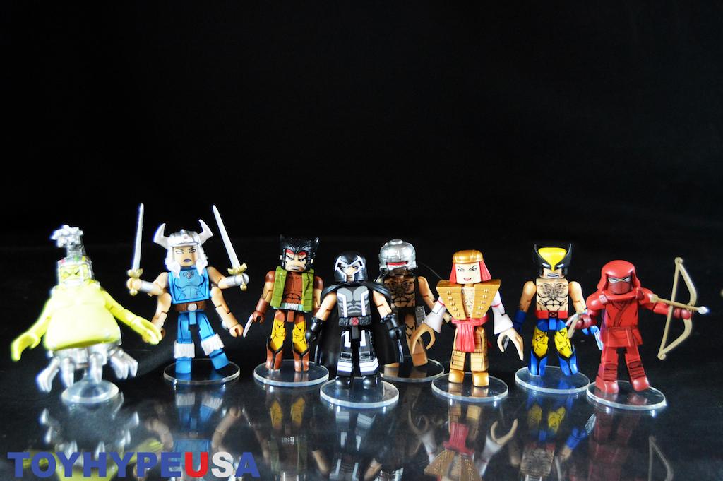 Diamond Select Toys Marvel Minimates Wave 72 – Wolverine Comic History Review