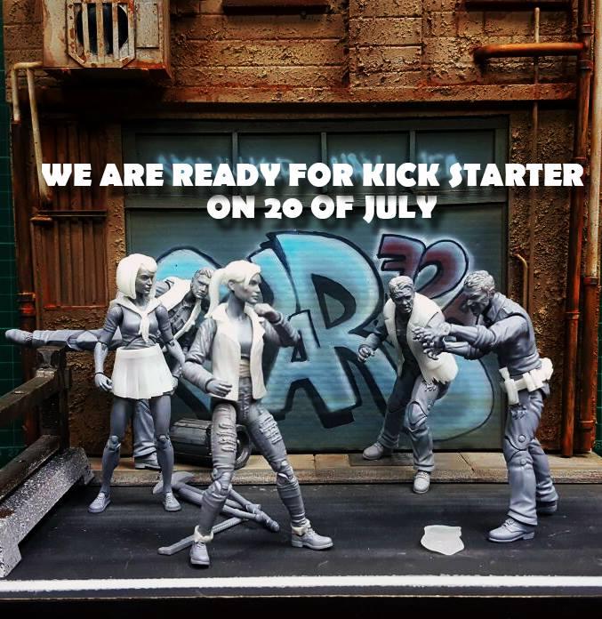 Dream Concept Studio Announces New Zombie Lab Kickstarter Coming Soon