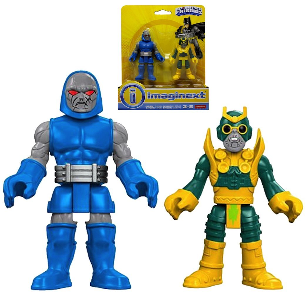 Amazon Lists New Fisher Price Imaginext DC Super Friends Darkseid 2 Pack, Batbot & More In-Stock