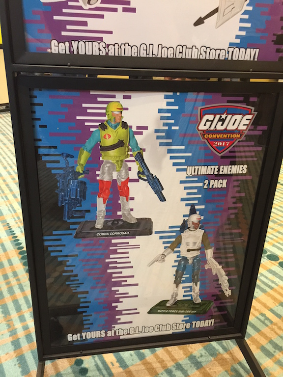 Hasbro's G.I. JoeCon 2017 Exclusives Listings On eBay Continue With New Products Added