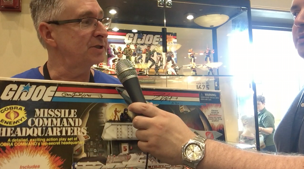 Hasbro G.I. JoeCon 2017 – Video Interview With G.I. Joe Brand Manager Derryl Depriest