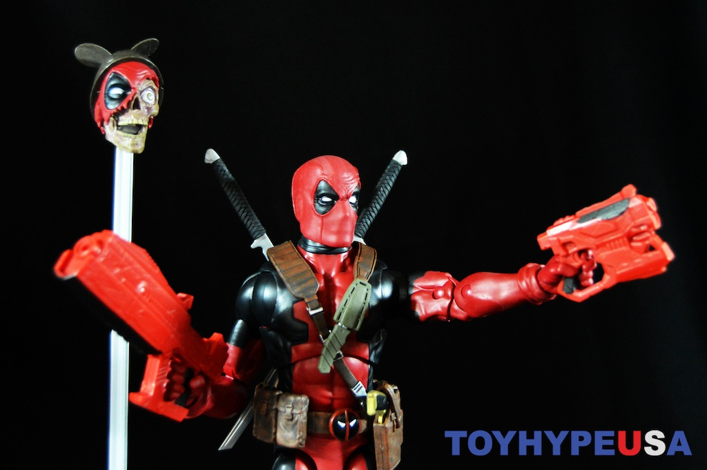 Hasbro Marvel Legends 12″ Deadpool Figure Review