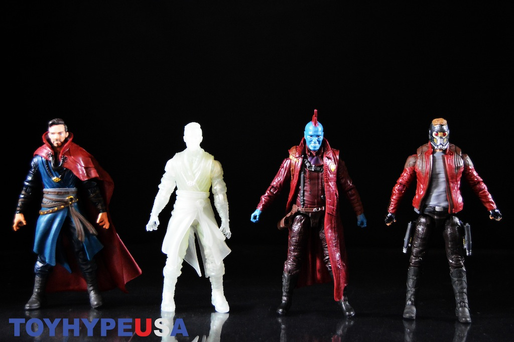 Hasbro Marvel Legends 4″ Doctor Strange & Astral Doctor Strange, Star-Lord & Yondu 2 Packs Review