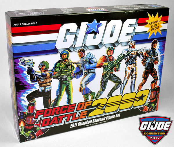 Hasbro's G.I. JoeCon 2017 Exclusives Listings On eBay